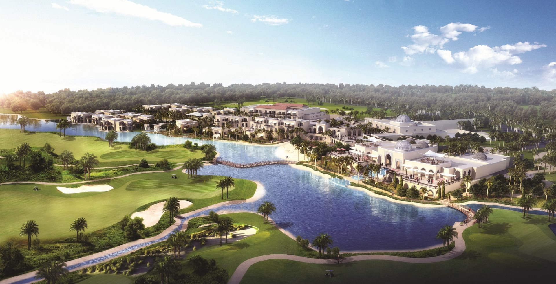 Tiger Woods To Design Golf Course In Dubai For Damac