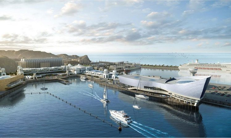 Mina Al Sultan Qaboos Waterfront project (source: ME Construction News)