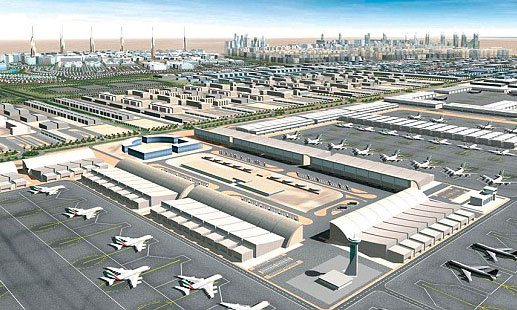 Al Maktoum International Airport (DWC) (source: ME Construction News)
