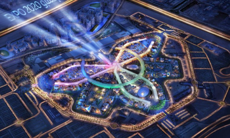 Dubai Expo 2020 perspective (source: ME Construction News)