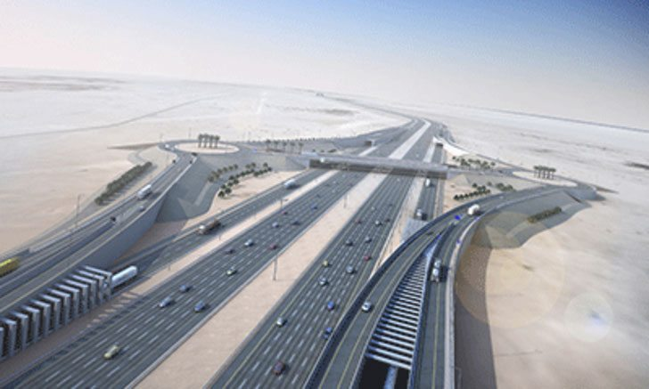 Expressway perpsective (source: ME Construction News)
