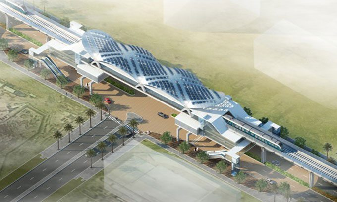 Riyadh Metro Station (source: ME Construction News)
