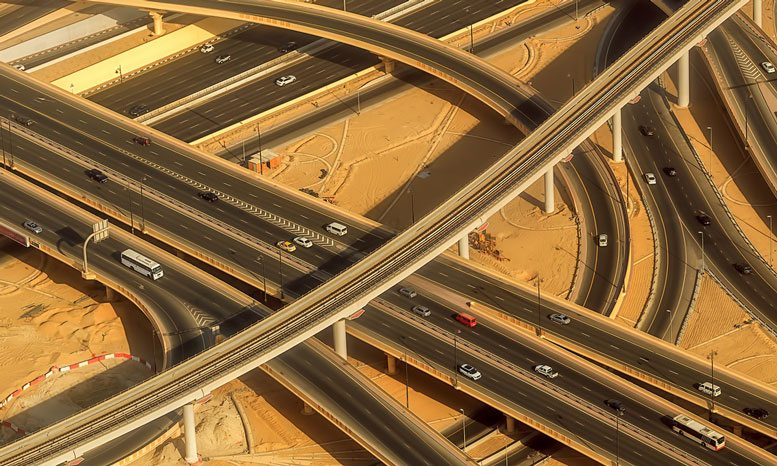 Interchange photo (source: ME Construction News)