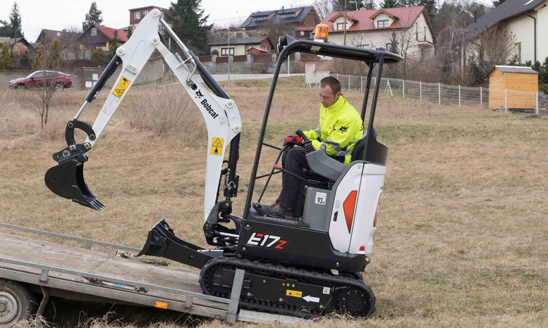 Bobcat Launches New Zero Tail Swing Excavator Middle