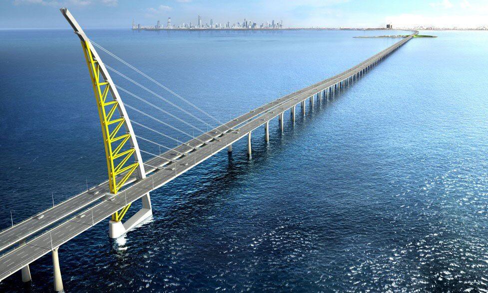 Sheikh Jaber Al Ahmad Al Sabah Causeway (source: ME Construction News)