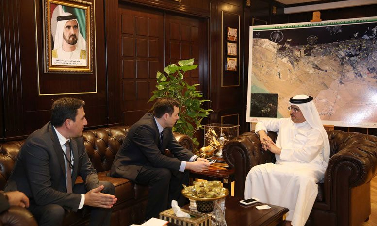 Dubai's DEWA, General Electric discuss closer ties | Middle