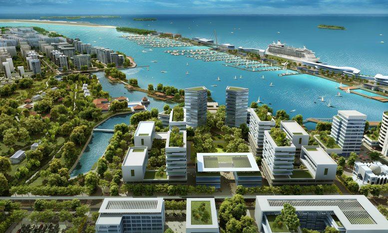 Maldives Targets Mideast Investors With Smart City Island
