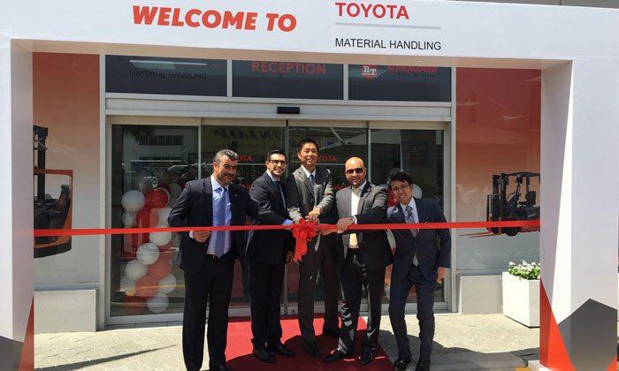 Al-Futtaim Motors opens Toyota Material Handling 3S centre