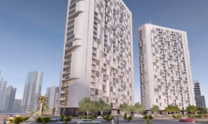 Video: Progress on Aldar's Shams Meera project, Abu Dhabi