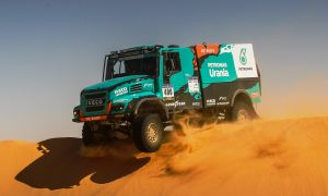 De Rooy powers IVECO truck to Africa Eco Race victory