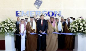 Emerson opens new tech lab in Saudi Arabia