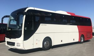 "Mwasalat first to order ""safest-ever"" Lion's Coach"