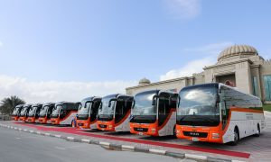 UHME hands over new MAN Lion's Coaches to Sharjah RTA