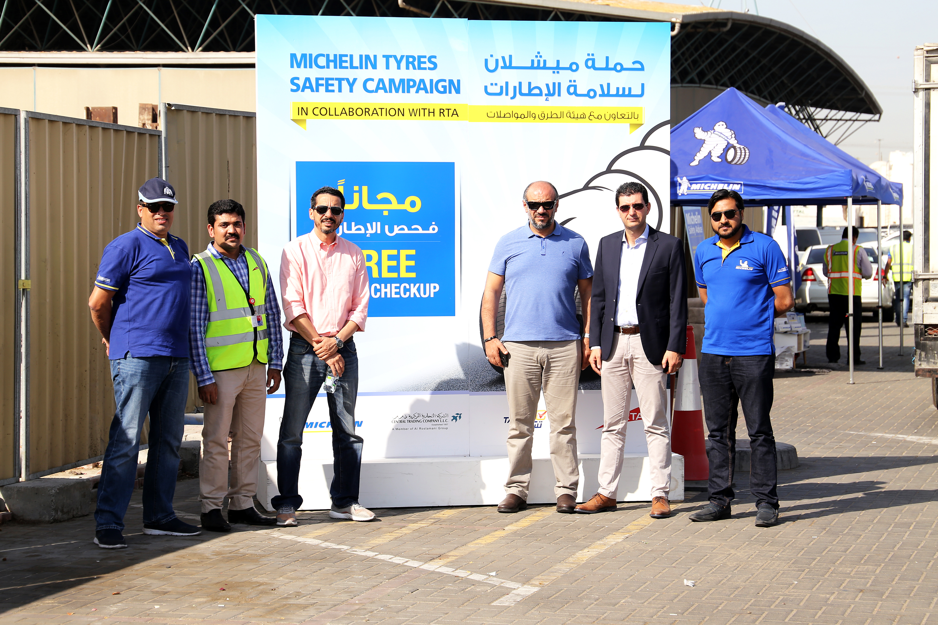Michelin joins forces with Dubai Police and RTA to promote