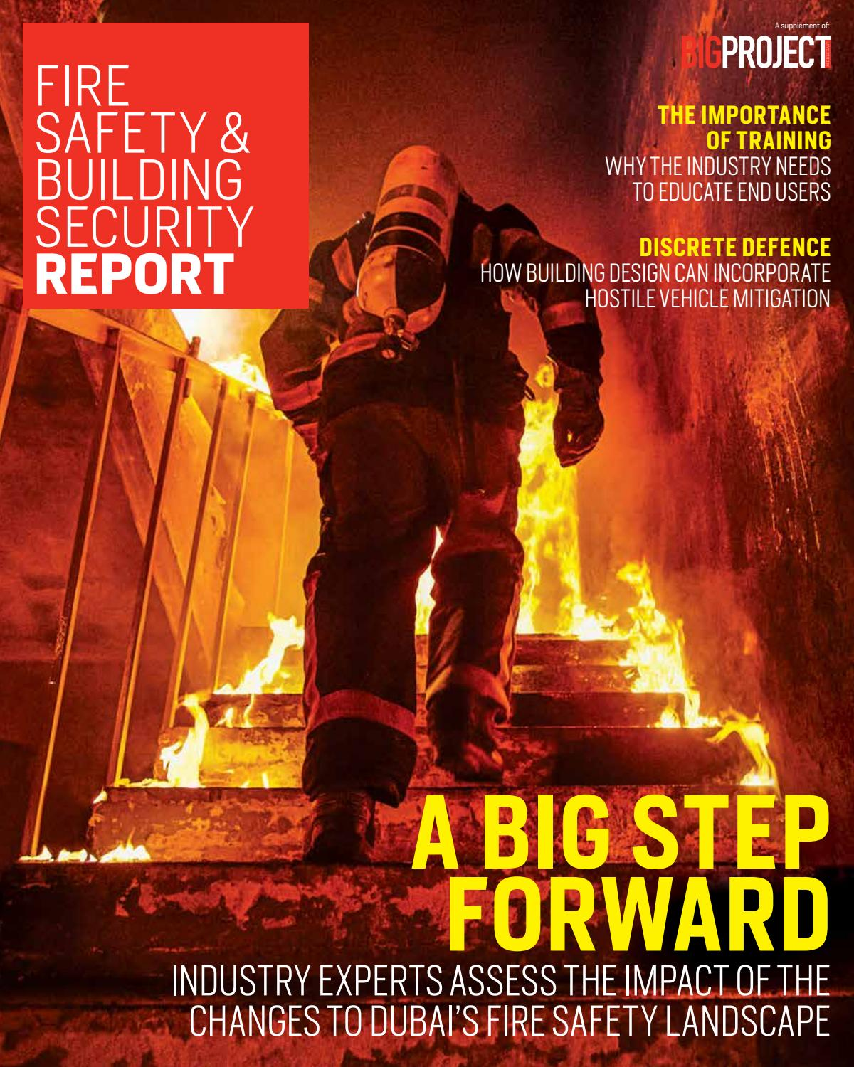 Fire Safety & Building Security Report 2018