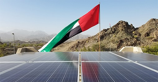 Abb supporting dewa free solar panel programme in hatta