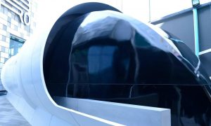 RTA's Hyperloop pod makes global debut