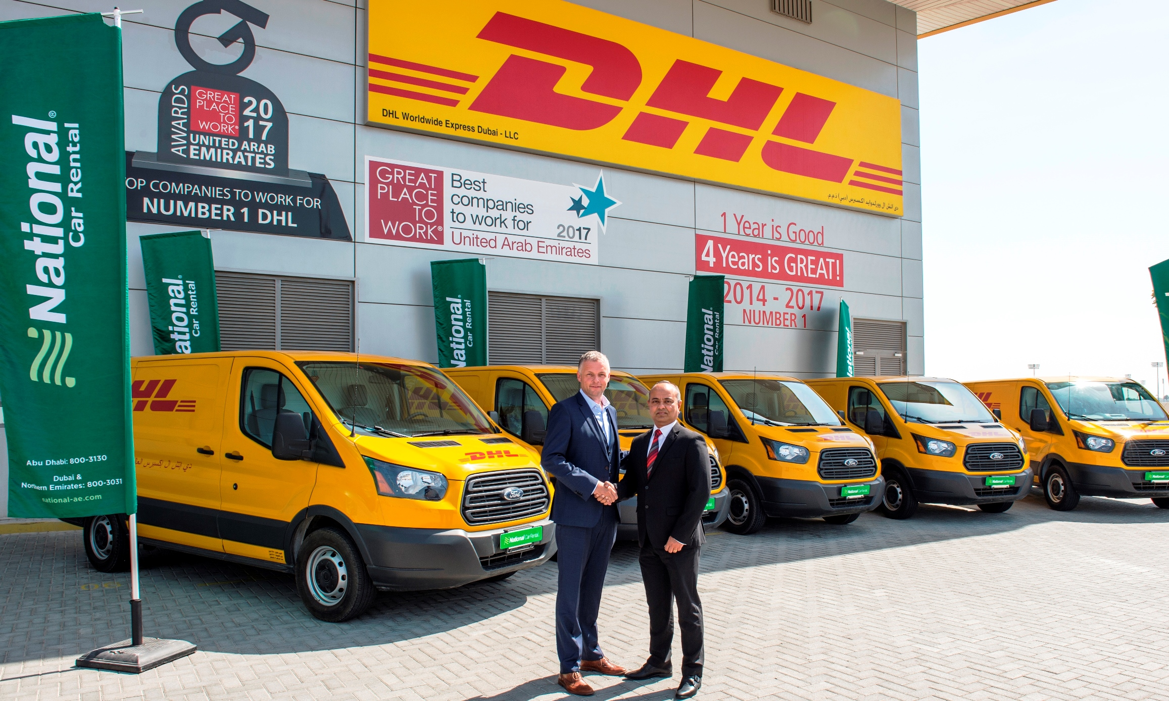 Ford Transit vans will help DHL get more women drivers in UAE