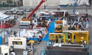 International heavyweights in construction machinery line-up for The Big 5 Heavy