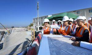 RTA updates on progress of Dubai Metro Route 2020