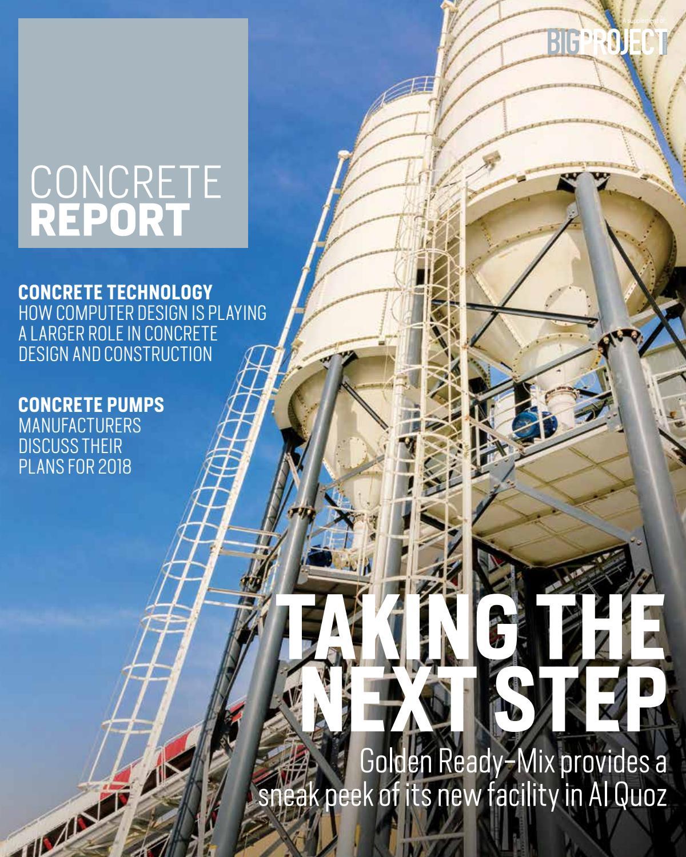 Concrete Report 2018