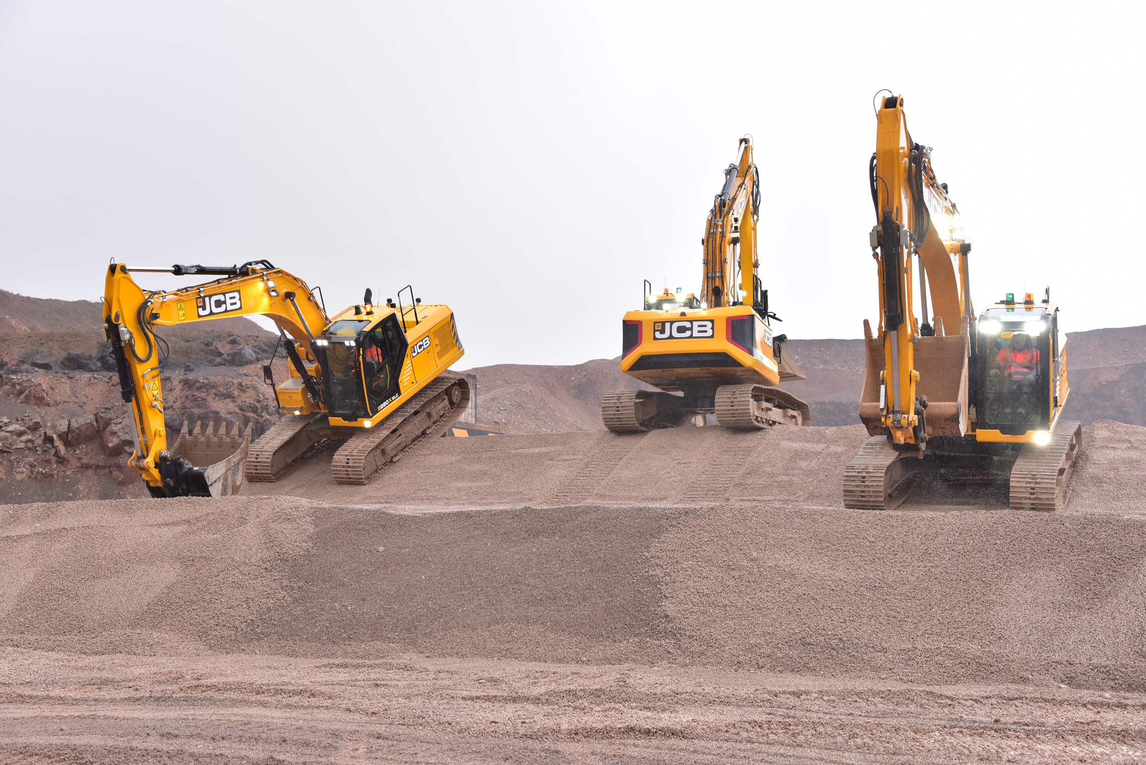 JCB focuses on operator in new excavators | Middle East Construction