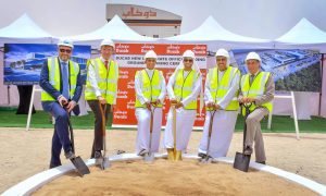 Construction of Ducab HQ underway after ground breaking