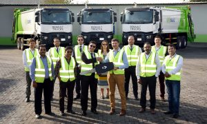 SUEZ Middle East Recycling buys three 6×4 Renault K trucks