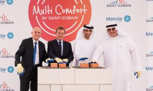 Saint-Gobain breaks ground for its first Multi Comfort House in the Middle East
