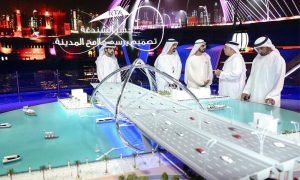 Dubai starts work on $107m Shindaga bridge inspired by infinity sign