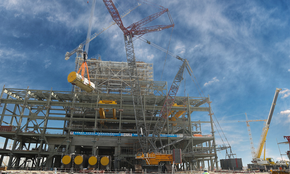Al Faris executes biggest-ever lift with 404t generator at