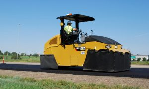 Caterpillar introduces new pneumatic compactor