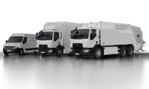Renault Trucks unveils new all-electric trucks