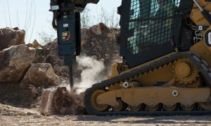 Caterpillar launches new hydraulic hammers for small machines