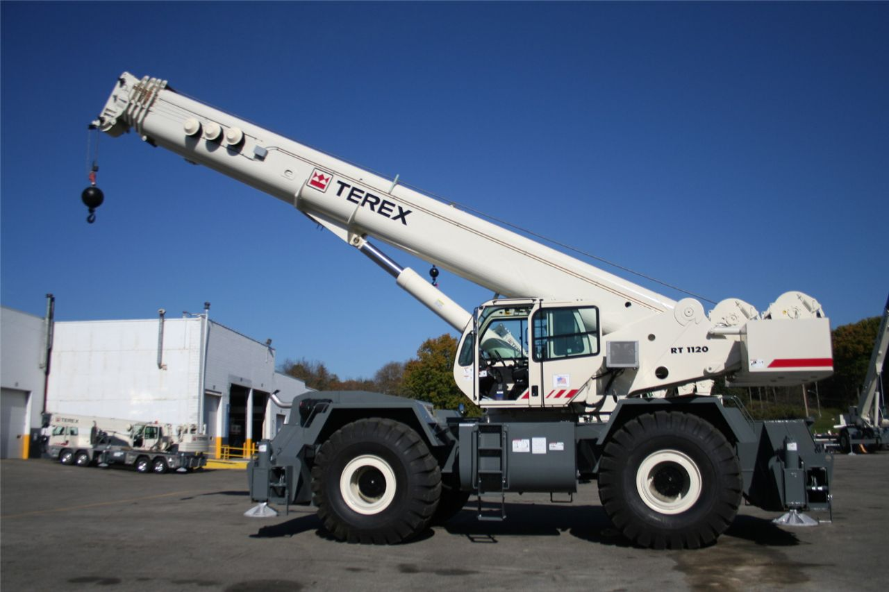Growth in cranes demand as Terex reports strong second