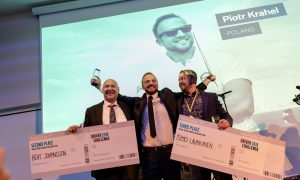 Piotr Krahel crowned world's best truck driver as ME drivers prove they can compete