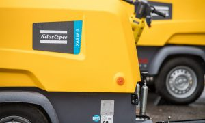 Atlas Copco expands 8-Series range with new compressor-generator combo