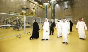 Ducab High Voltage welcomes UAE Minister for Advanced Sciences