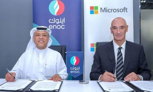ENOC and Microsoft partner to develop AI-based service station