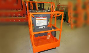 JLG launches new small platform for engine-powered boom lifts