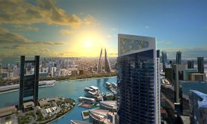 JV announces Golden Gate twin tower residential project in Bahrain