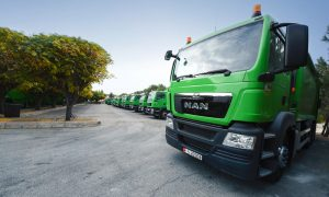 Amman Municipality picks up 101-strong MAN fleet