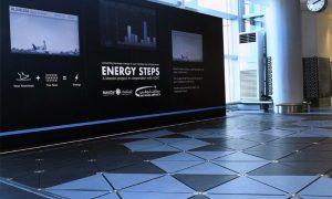 AUH Airport opens walkway that converts footsteps into electricity and data
