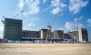 Nakheel and RIU confirm roofing is underway on Deira Islands resort