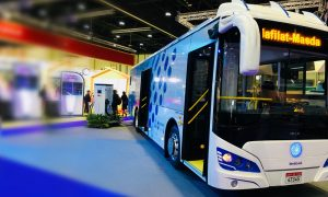 Region's first all-electric bus service begins in Abu Dhabi