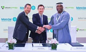 Masdar makes first foray into North America