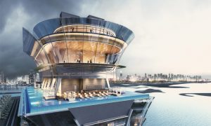 Nakheel announces Dubai's tallest rooftop infinity pool at the Palm Tower