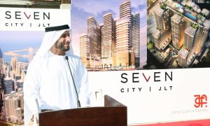 Billion dirham SE7EN City JLT construction gets underway