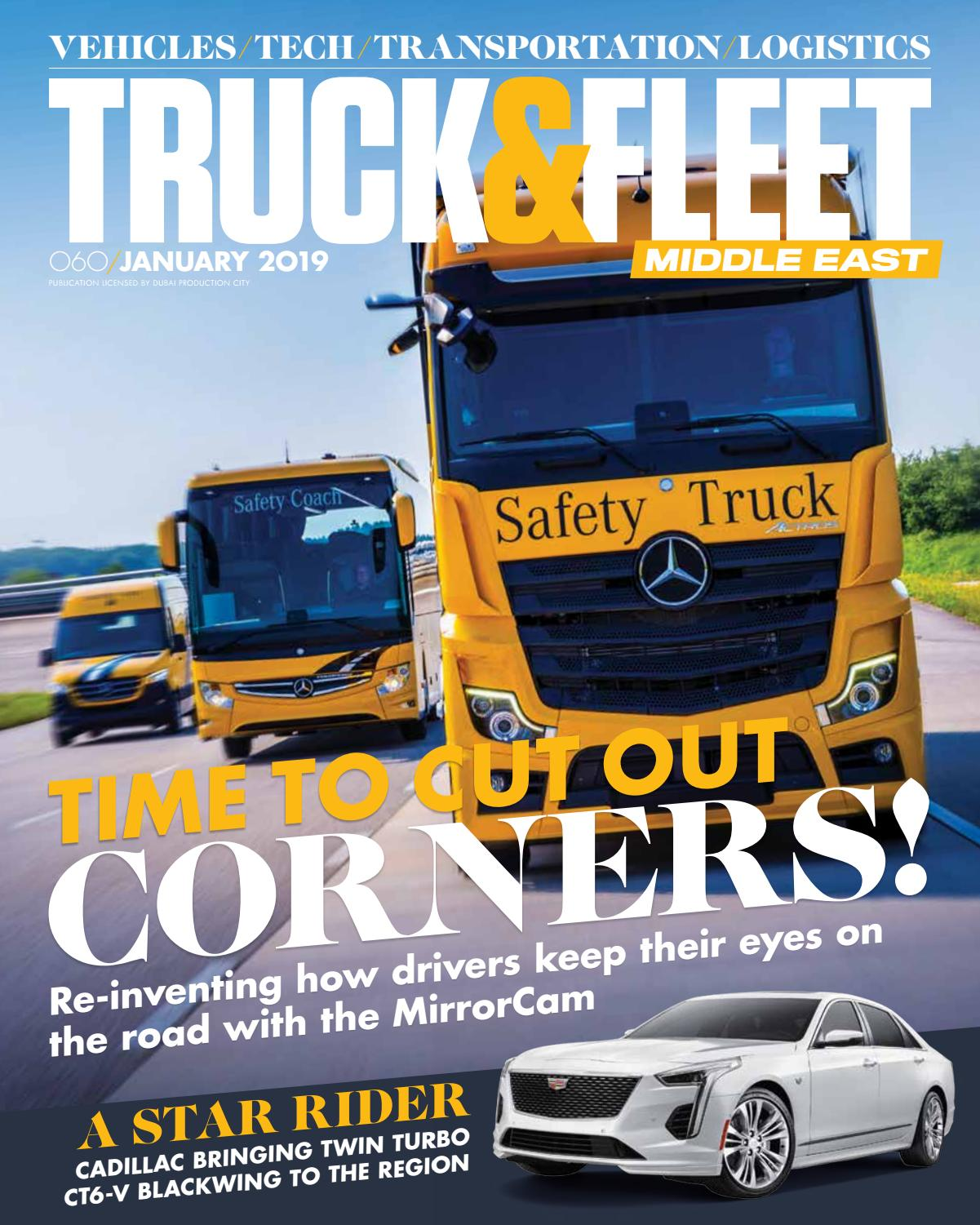 Truck&Fleet ME – January 2019