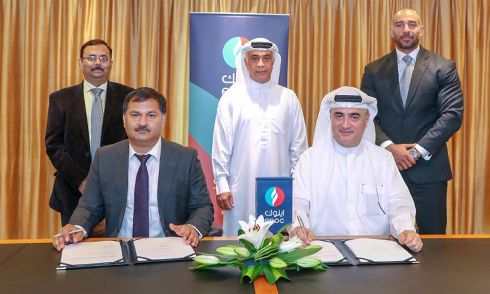 ENOC Group, Indian Oil Company signs joint partnership